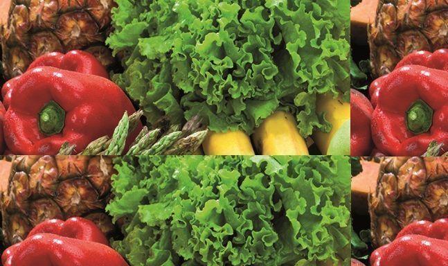 verduras aji lechuga