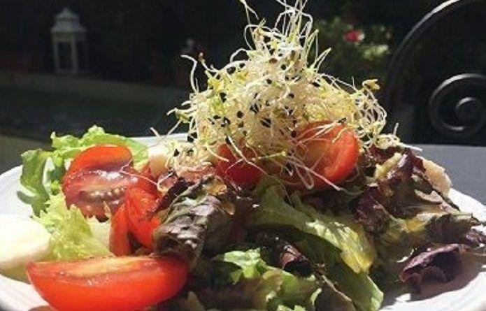 ensalada sano verduras