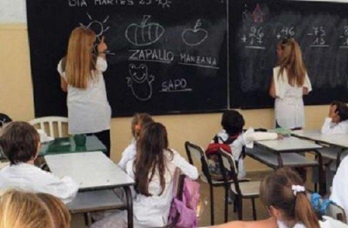 aula escuela primaria