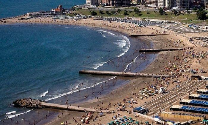 mar del plata playa verano