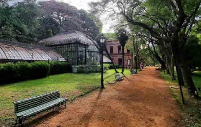 El invernadero Principal del Jardín Botánico de Buenos Aires.
