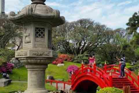 El Jardín Japonés de la Ciudad de Buenos Aires