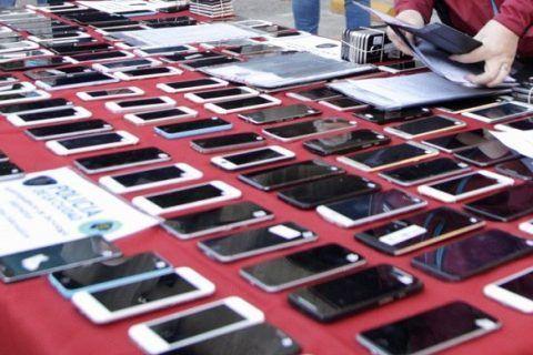 Les devolvieron a sus dueños los celulares que les robaron en la ciudad de Buenos Aires