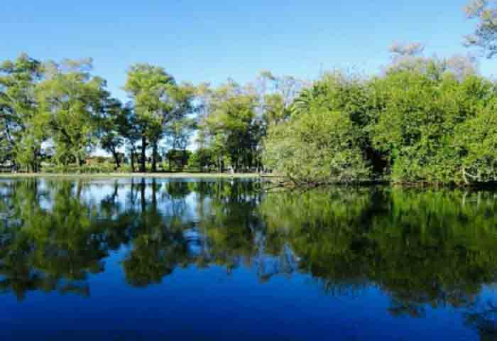 Lago Regatas de Buenos Aires.