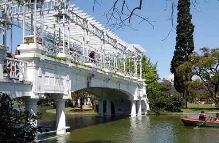El Rosedal de la Ciudad de Buenos Aires