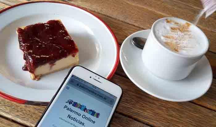 Cheesecake de Buenos Aires Argentina.