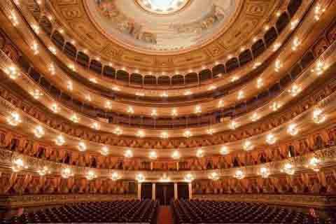 El Teatro Colón de Buenos Aires.