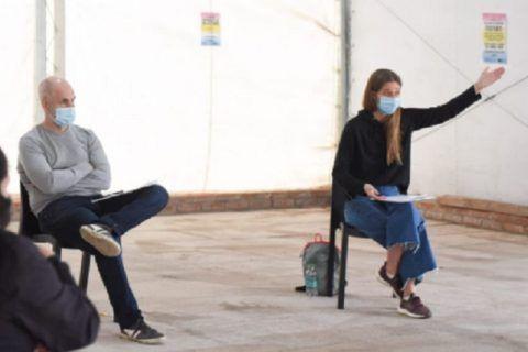 María Migliore el pelotazo en contra de Horacio Rodríguez Larreta.