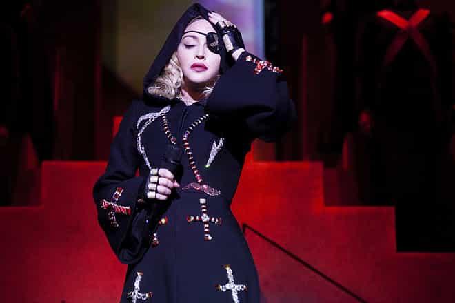 Madonna la Reina del Pop vuelve en concierto